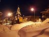 February night 2012. in the Kneževo