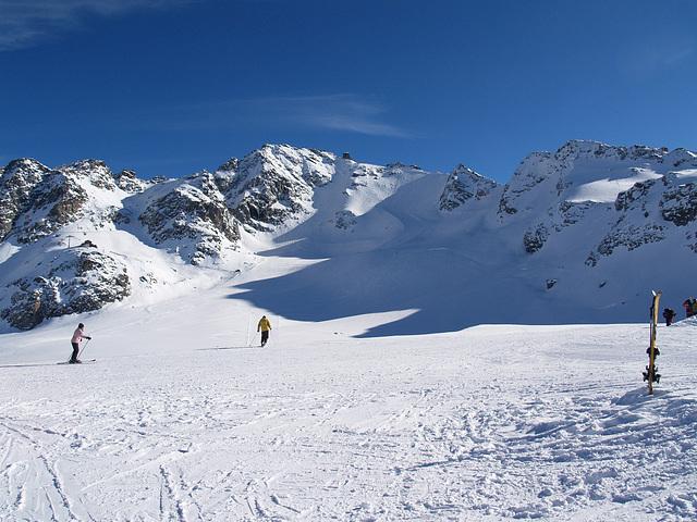 Mont Fort from Glacier de Tortin