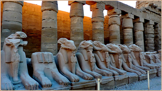 LUXOR : i templi di Karnak