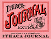 Ithaca Journal Extra Cigar Box Label