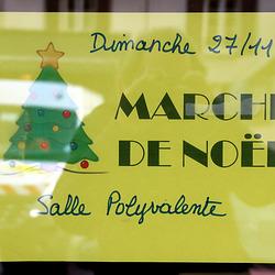 Marché de Noël 27 11 2016