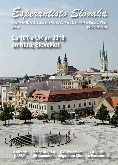 Esperantisto Slovaka 4/2014