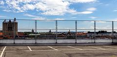 Braunschweig: ein Zaun vor den Sehenswürdigkeiten? 2 x PiP