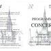 Programme concert Choeur77- Naucelle - 2017