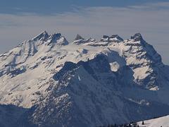 Dent du Midi from Mont Gele