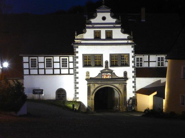Schloss in Lauenstein/Sachsen