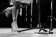 Italienne émoustillante en Talons dansants de haute gamme.....