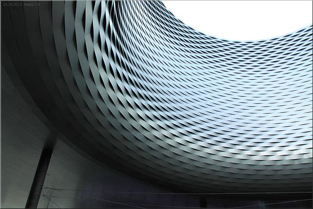 "Messeplatz Basel – ""City Lounge"",  von Herzog & De Meuron"