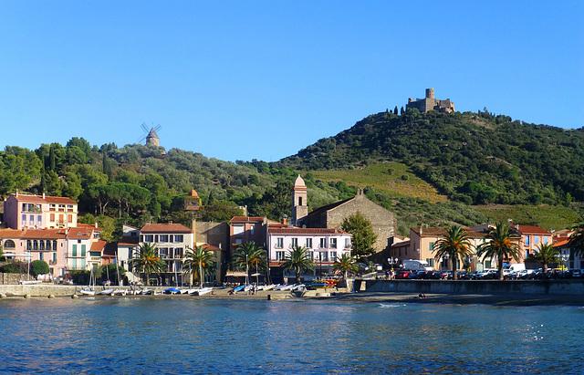 FR - Collioure - View towards Fort St. Elme