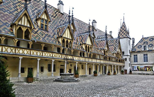 Les hospices de Beaune (21) 18 novembre 2010.