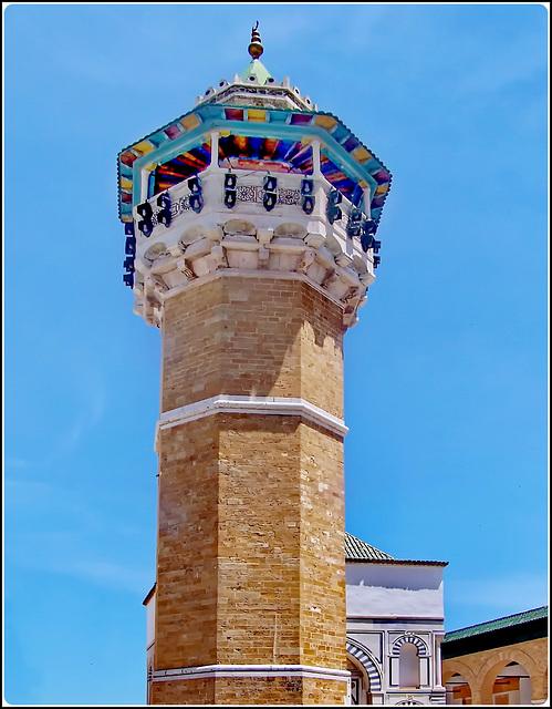 Tunisi : la Mosque Hammouda Pacha sopra la Medina