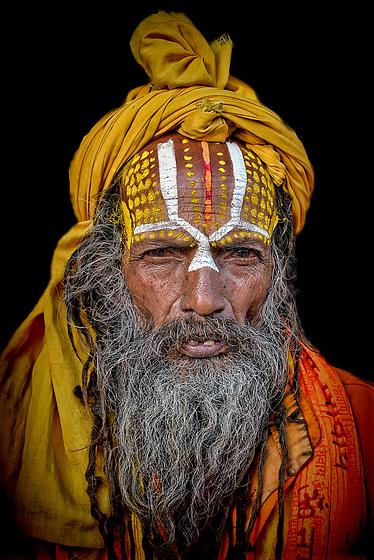 wandering sadhu