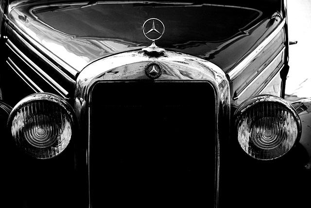 Frontalansicht des Mercedes-Benz 170 S