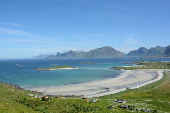 Norway, Lofoten Islands, The Ytresand Bay