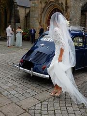 la mariée est attendue,