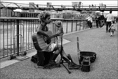 Singing London.