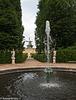 Mühle und Springbrunnen im Park Sanssouci