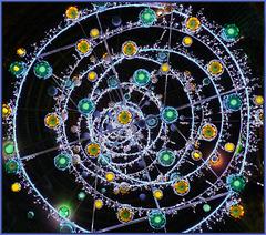 Natale luminoso in galleria Umberto I - (737)
