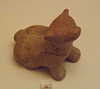 Rattle in the Shape of a Dog from Athens in the National Archaeological Museum of Athens, June 2014