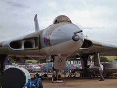 Avro Vulcan B.Mk 2 XM594, an old friend of mine from my days at R.A.F. Scampton