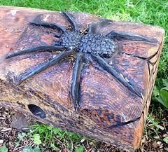 The Big Wooden Spider.
