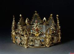 Ekspozicio en Moskvo. Krono- relikvarij