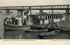 Steamboat Mary, Wrightsville and Columbia, Pennsylvania, ca. 1907
