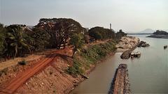 Vue marine du Laos