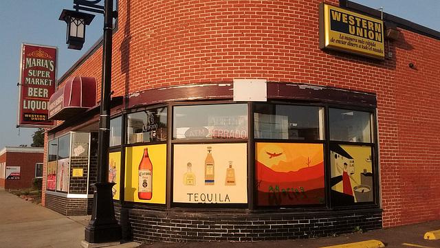 Tequila corner / Carrefour de la douce ivresse