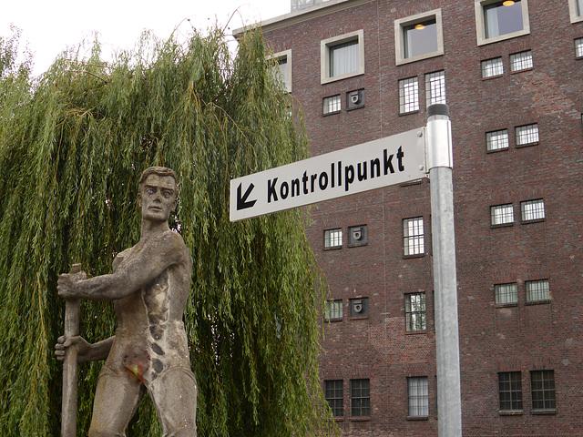 Kontrollpunkt in Heilbronn