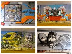 Graffiti - l'art de la rue.
