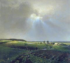 Après la pluie, par Victor Vasnetsov