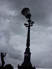 Á Rome ,ciel gris