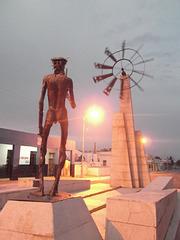 Sculpture en tournure