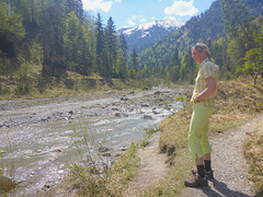 Wanderweg zur 'Siebenhütten' 836m
