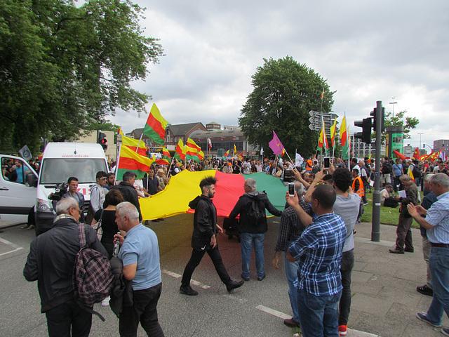 Kurdischer Protest