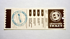 Ticket to the Halton County Radial Railway