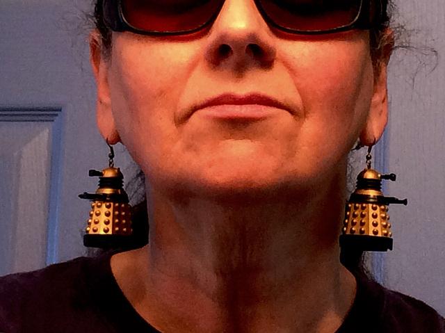 exterminate earrings