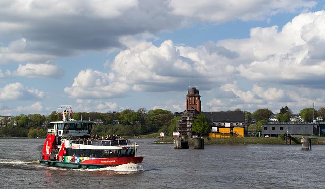 Hamburg Harbour ferry ride (#0021)