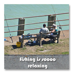 fishing is sooo relaxing - Newhaven - 23.8.2016
