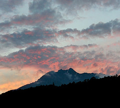 Ciel des Alpes / Alpine sky