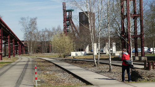 In der Zeche Zollverein