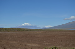 Bolivian Altiplano, Volcanoes Ollague (5868m) and Aucanquilcha (6176m)