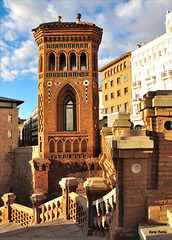 Torre Mudéjar y Escalinata del Óvalo - Teruel
