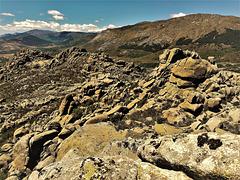 Granite scenery, La Sierra de La Cabrera