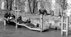 La Seine ~   Urban Chronicles  ~    Paris ~ MjYj