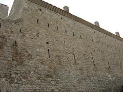 Budva battlements