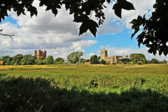 Holy Trinity Collegiate  church and Tattershall castle ~ Tattershall ~ Lincolnshire