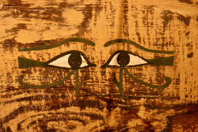 Leipzig 2019 – Georg Steindorff Egyptian Museum – Eyes