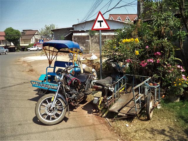 Triple A motorbike
